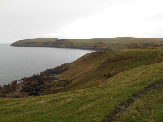 Mull of Galloway coast nearing East Tarbet