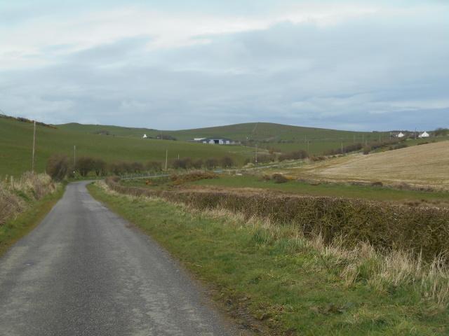 Road from Pulinkum Farm