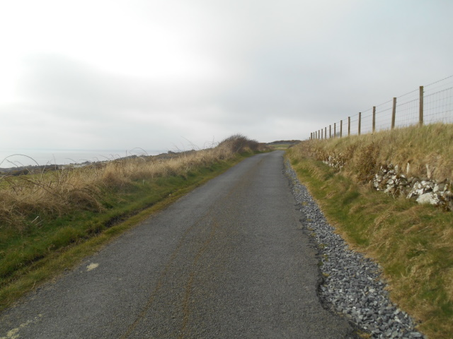 Road from Stairhaven to Glenluce