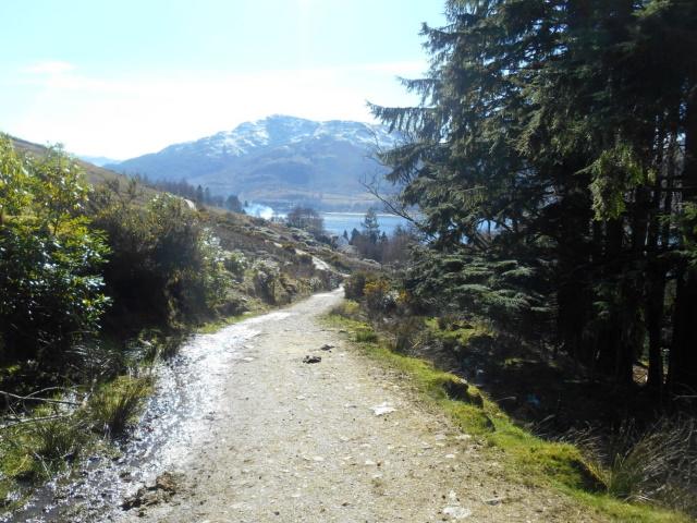 Approaching Loch Goil