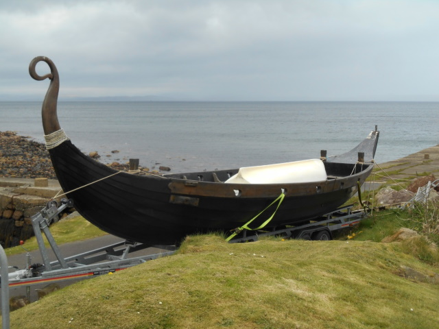 A Viking boat