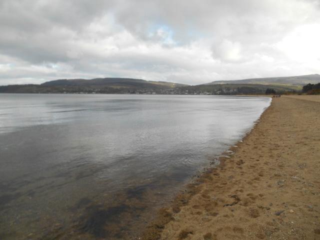 Brodick beach