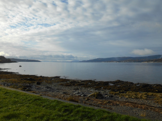 View towards the Clyde from Cove