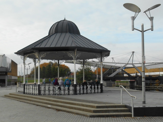 Three Queens Square Bandstand