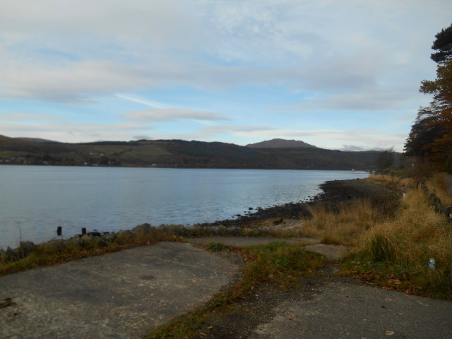 Gare Loch as seen from the shore
