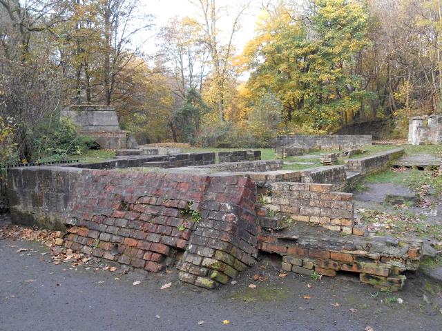 Old Flint Mill ruins