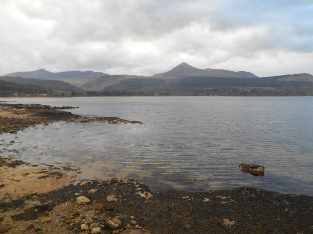 Goatfell from Brodick