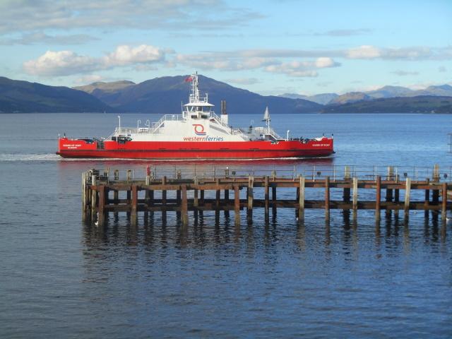 Gourock-Dunoon ferry