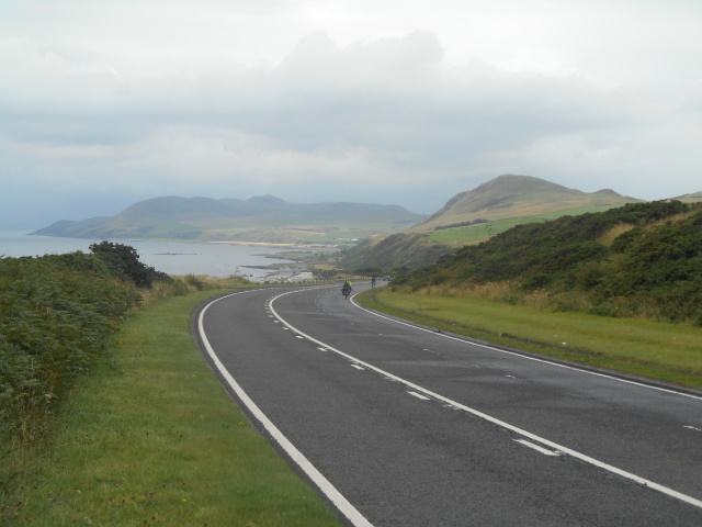Approaching Lendalfoot on te A77