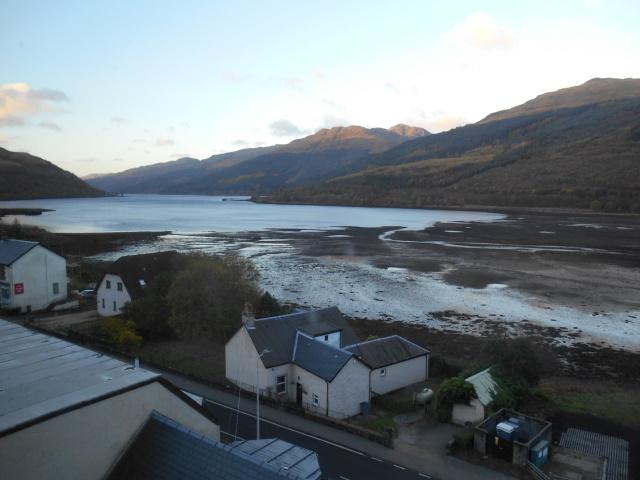 Loch Long as seen from the Loch Long Hotel, Arrochar