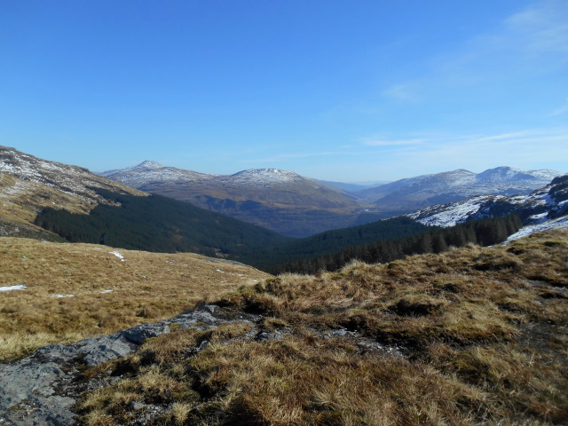 Loch Long from the bealach