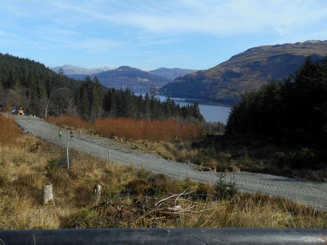 Loch Long from Coilessan Glen