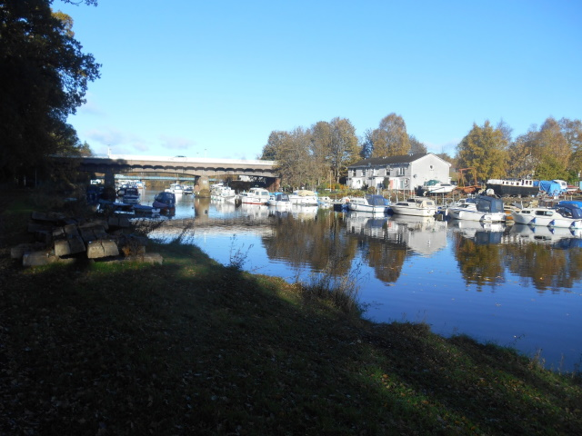 Boatyard on the Leven