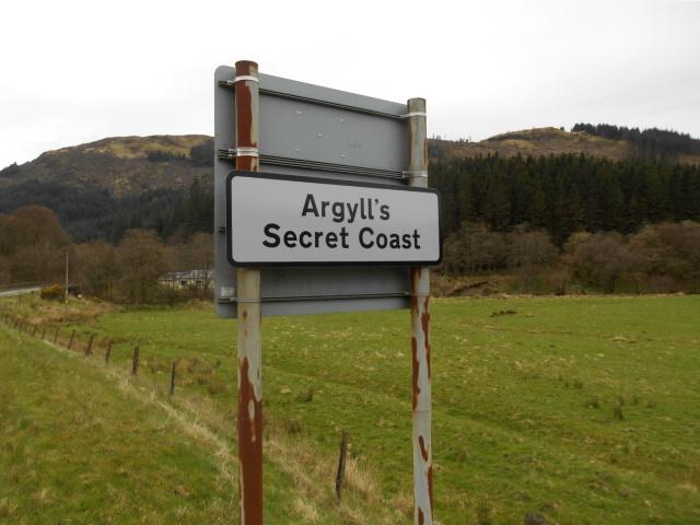 Sign: Argyll's Secret Coast