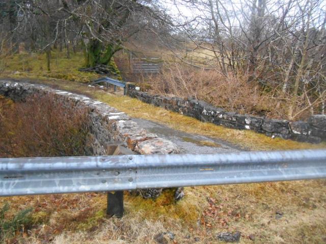 Achnadrish old bridge