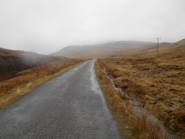 B8035 crossing Ardmeanach