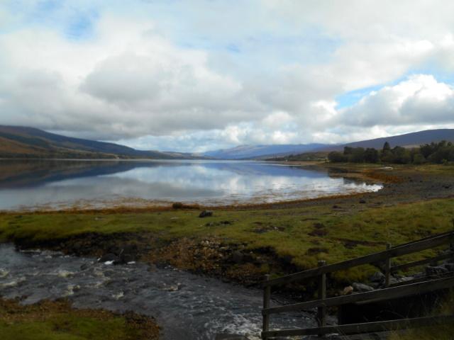 View down Loch Eil