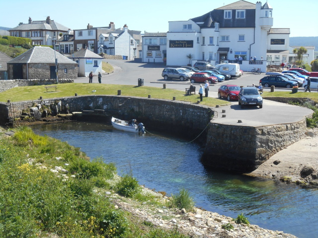 Kinloch Hotel and Blackwaterfoot Harbour
