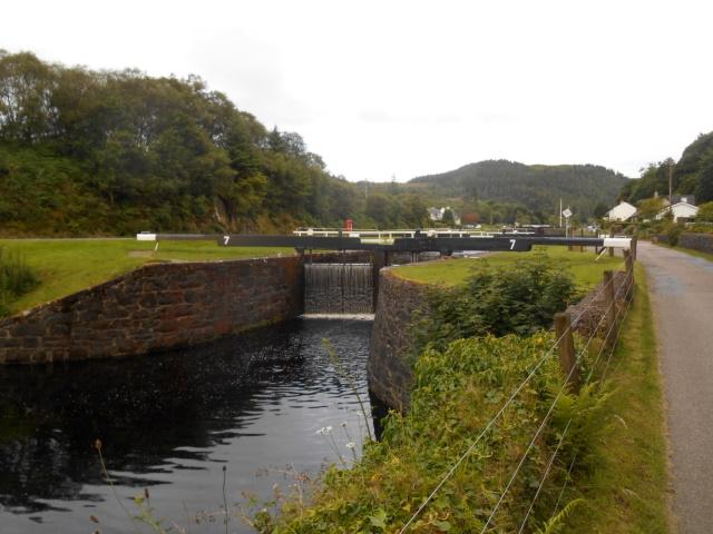 Crinan Canal Lock No. 7