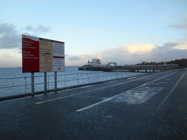 Ferry at Craignure