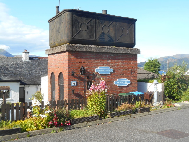 Old railway water tower