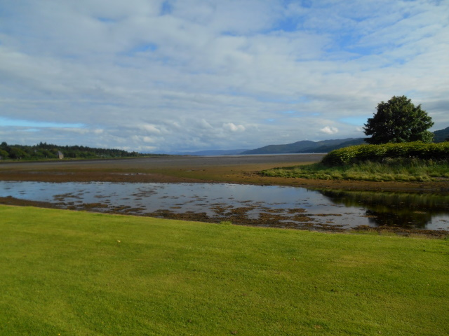 View down Loch Gilp