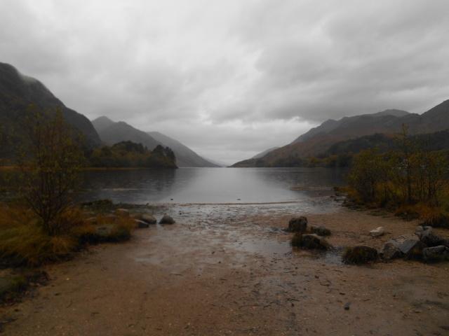View down Loch Shiel