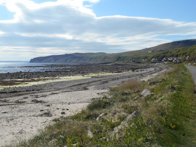 Port Buidhe, Port a' Ghille Ghlais and Bennan Head