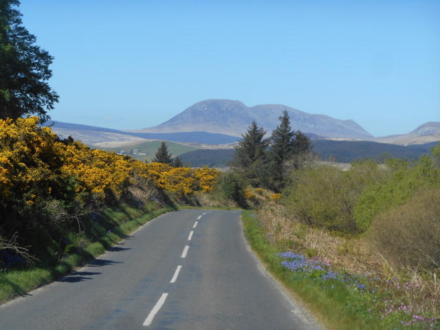 Road to Tormore and Machrie