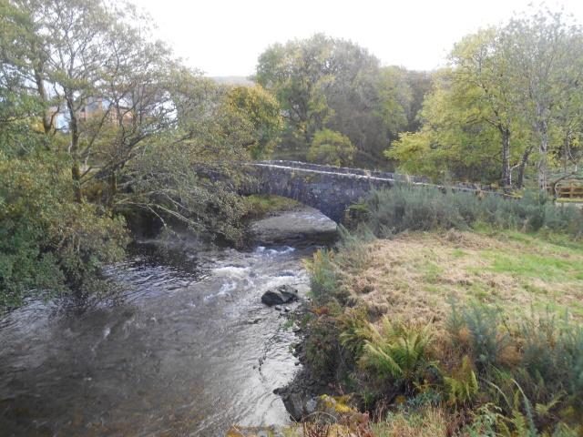 Scallastle old bridge