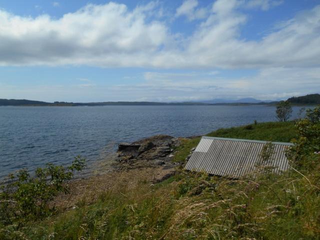 View towards Seil Sound
