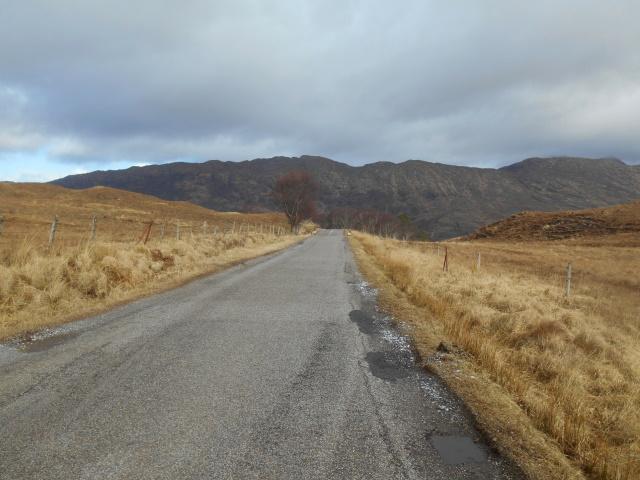Moidart's hills ahead