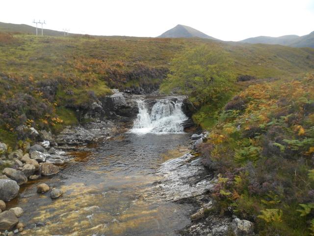 Waterfall on the Allt Strollamus