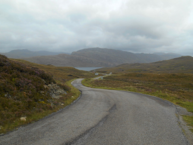 Approaching the A894
