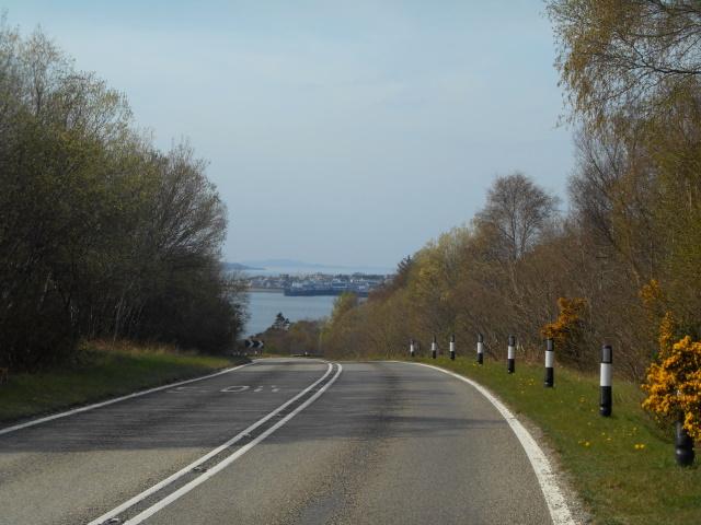 Approaching Ullapool
