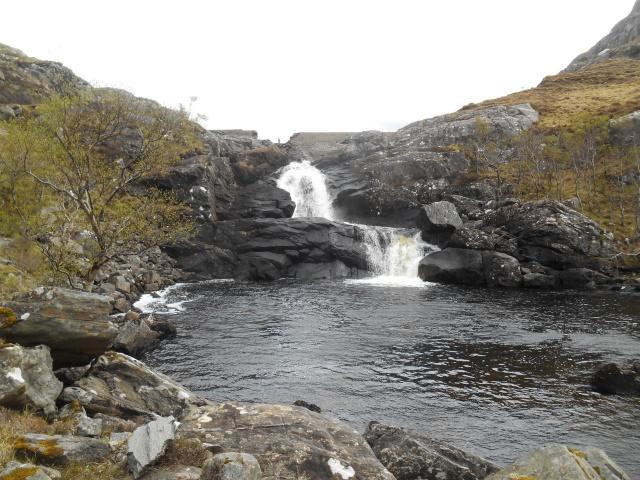 Breached Dam & Waterfall