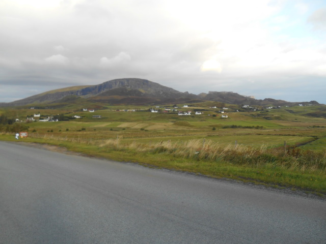 Quiraing above Digg