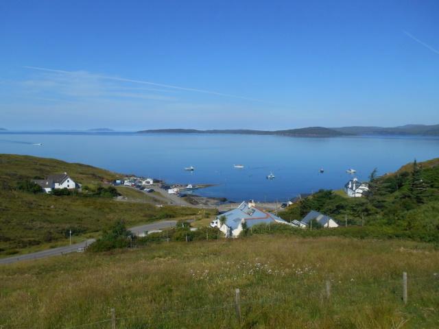 Descent to Elgol Harbour