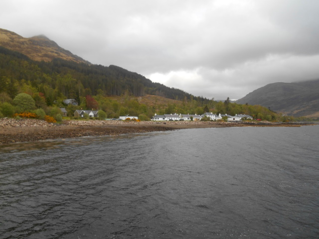 Inverie from the ferry pier