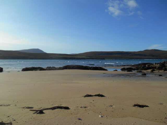 View across kyle to Achiemore and Daill