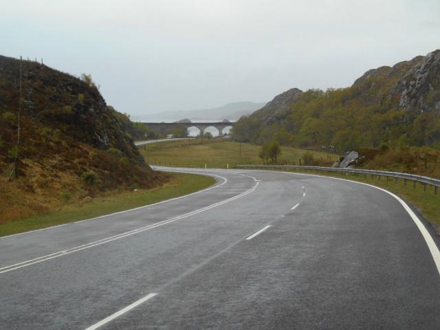 Loch nan Uamh Viaduct distant