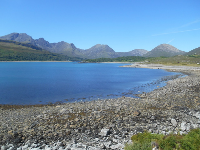 Loch SLapin and the Cuillin