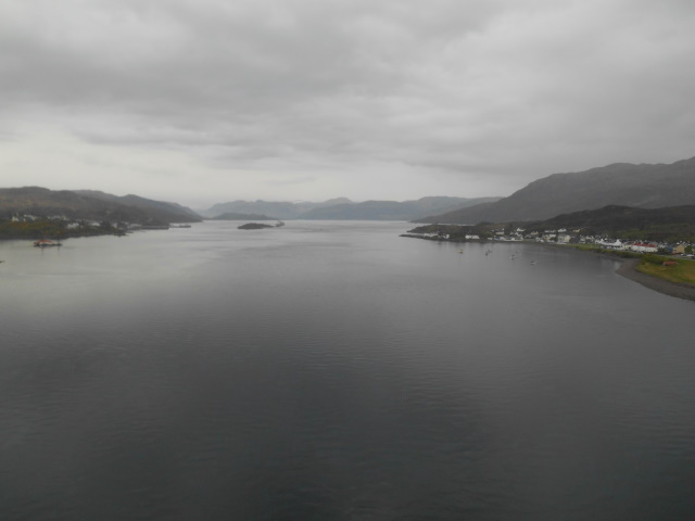 Drizzly view from Skye Bridge