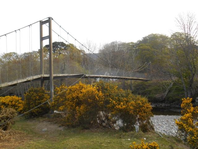 Dundonnell suspension bridge
