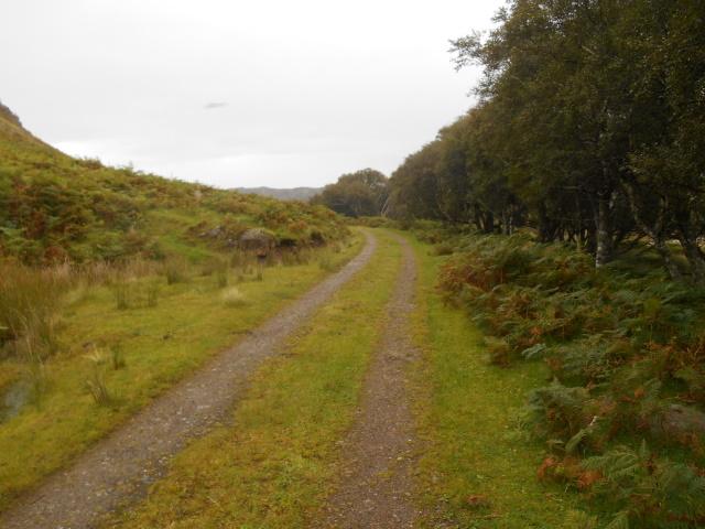 Track to Lochan Sàl