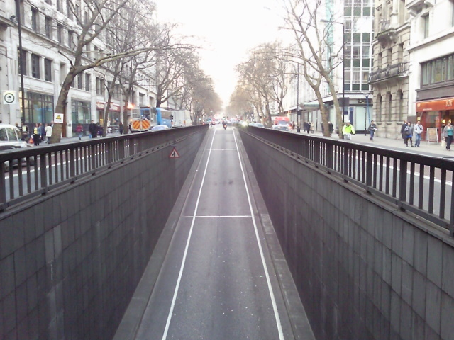 Strand Underpass exit