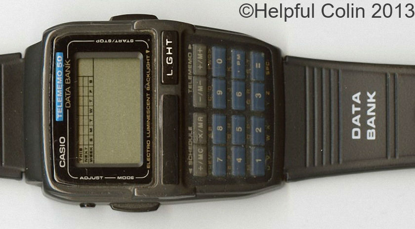 My Casio Databank Watch is DEAD
