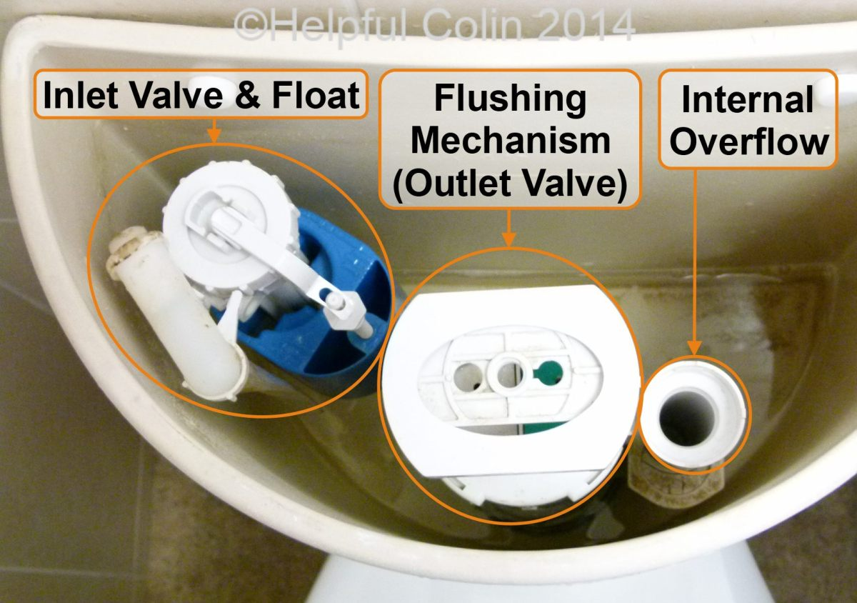 Repairing A Toilet Silent Fill Valve