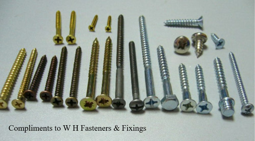 woodscrews and bolts