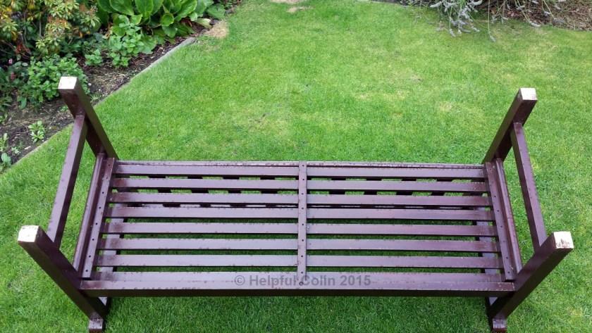 Repairing Rotten Garden Seat Legs